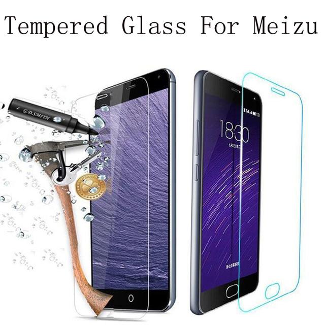 Экран протектор Премиум закаленного Стекло для Meizu M2 мини M2 Note2 M1 Примечание MX5 MX4 MX2 M3 Note3 Примечание из металла MX4 Pro 5 6 MX6