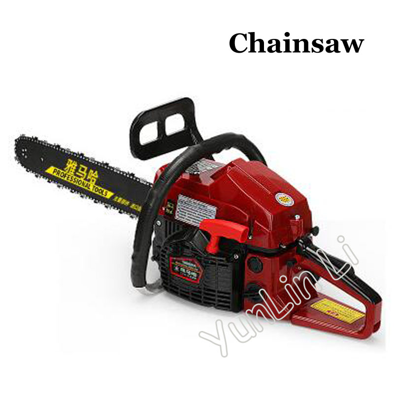 Portable 65CC Chainsaw Petrol Chainsaw With Blade Professional Chainsaw Garden Saw Petrol Chainsaw