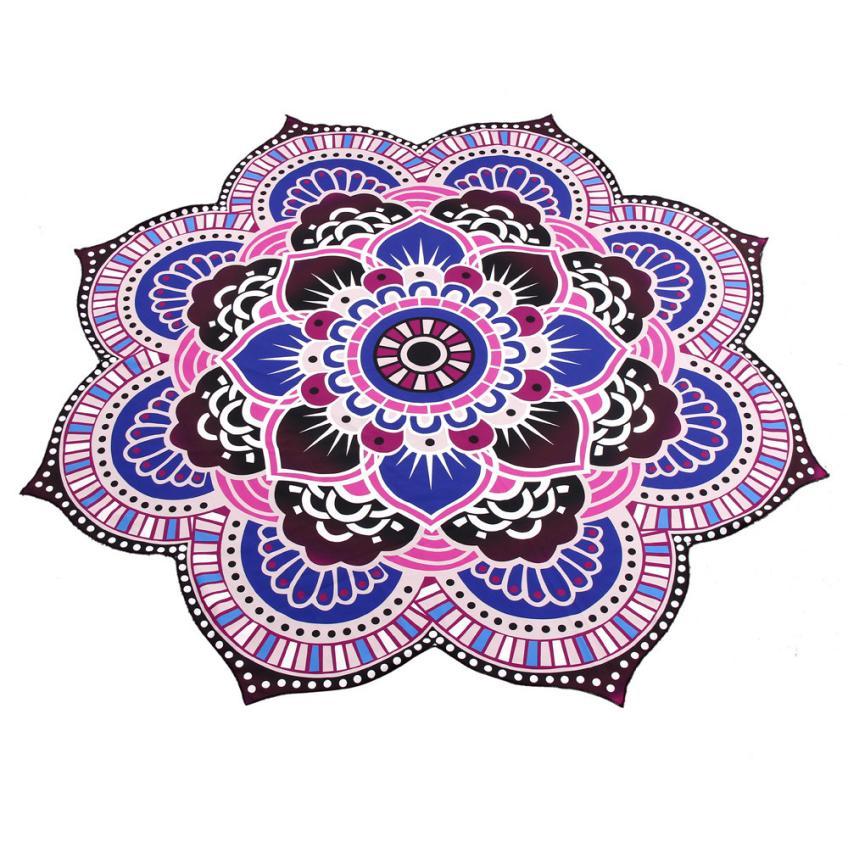 Mandala Towel Yoga Mat Bohemian Beach Pool Home Flower Table Cloth Design Yoga Mat Dec 18