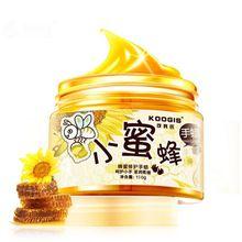 Koogis Мёд молока руку Воск Маски для рук питают mositurizing Отшелушивание против морщин Осветляющий Уход за кожей