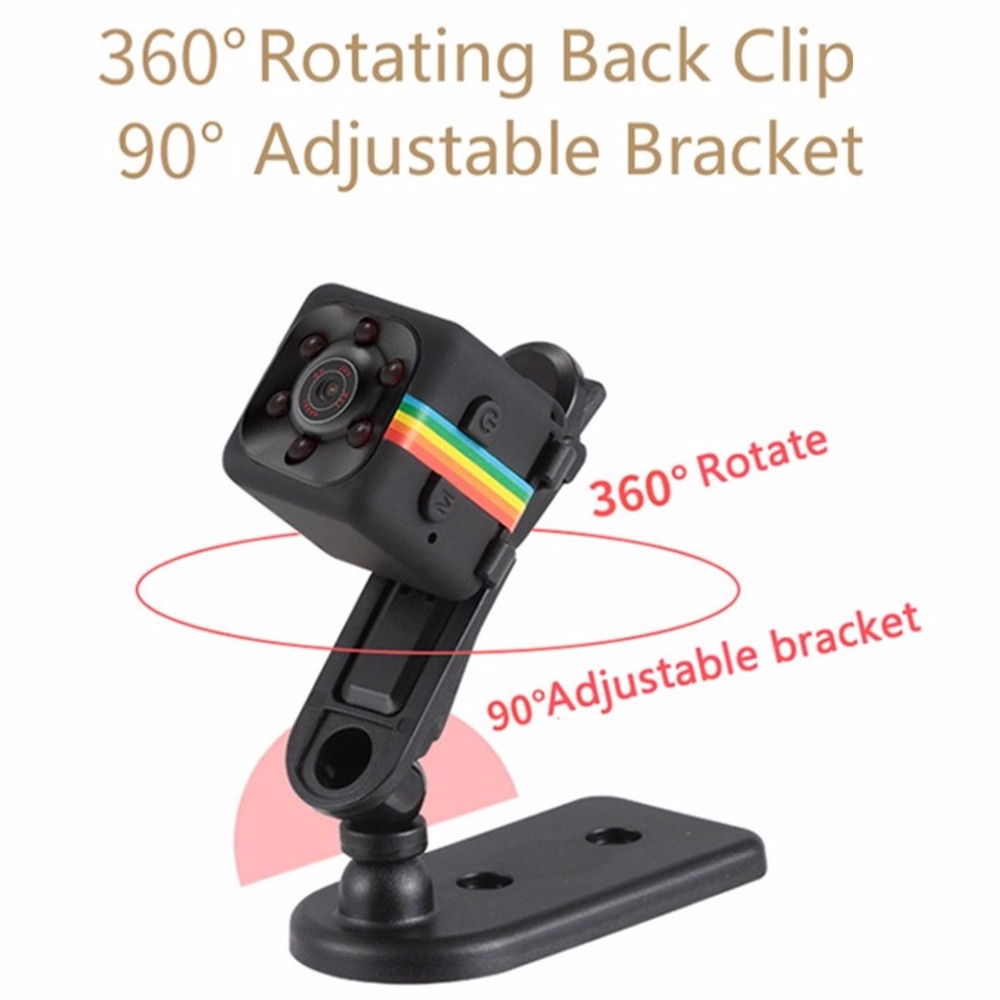 SQ11 Mini Camera Car DVR 12MP Motion Sensor Full HD 1080P Camcorder Night Vision Camera Aerial Sports DV Voice shopping bags