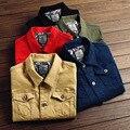 Original Design Mens Red Black Fashion Casual Kanye West Denim Jacket Korean Slim High Quality Young Men Jeans Jackets And Coats