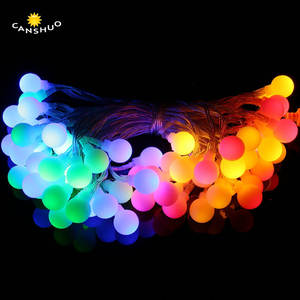 210M 2060LED USB Powered Globe Matt Ball Led Christmas Fairy String Lights RGB Garden Wedding Home Decoration illuminator Lamp