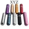 Hot 5ml Fillable Portable Mini Perfume Bottle Traveler Aluminum Spray Atomizer Empty Pots 1pcs9 Colors Available