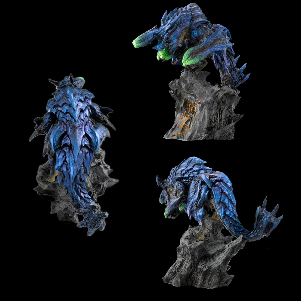 Japan Game Monster Hunter World Monster Model Toys Collections Limited Brachydios Beast Dragon Action Figure DecorationJapan Game Monster Hunter World Monster Model Toys Collections Limited Brachydios Beast Dragon Action Figure Decoration