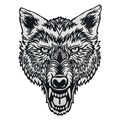 Lone Wolf Head Tattoo Reflective Embroidered Patch Biker Back Applique Iron Sew On Badges 12 Inch High Free Shipping