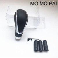 MOMO PAI Car Leather Gear Auto Conversion Gear Lever Manual Automatic Universal Gear Lever Pomo De