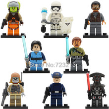 Star Wars PG8066 Figure Imperial Inquisitor Hera Syndulla Kanan Jarrus Bao Bodhi Rook Boba Fett Building Blocks Model Toys(China)