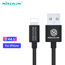 NILLKIN USB Data Cable 5 5s se Cables For iPhone Lightning Cable Charger For iPhone 7 6 6s 8 Plus Xr X Xs Max iPad Charging Cord power4 double sided usb cables for lightning cable usb charger for iphone x xr xs 7 5 4s mfi i phone chargers cable for apple