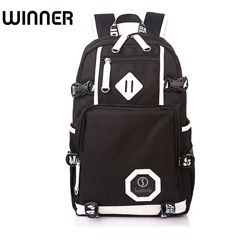 High Quality Brand Design Men Backpack for School Bag Teenagers Boys 15.6 inches Laptop Back bag Man Black and white Book Bag fashion women backpack for school teenagers girls boys school bag ladies backpack men back pack for 15 6 laptop high quality