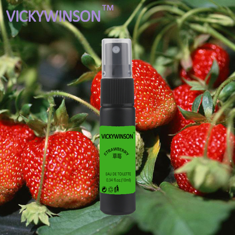 VICKYWINSON Strawberry Deodorant 10ml Deodorant Antiperspirant Crystal Deodorant Underarm Removal For Women Man