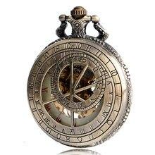 Zodiac Mechanical Hand Wind Pocket Watch