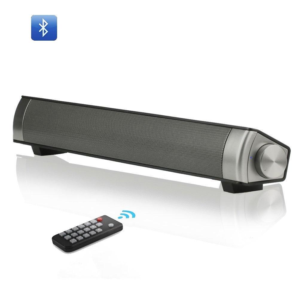 Tv Soundbar Wireless Bluetooth Speaker Sound Bar With Subwoofer 10W Stereo Speaker For Computer