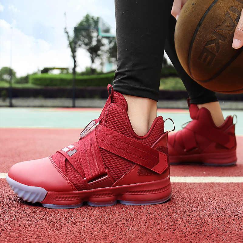 אופנה אדום סניקרס לנשים קיץ טריזי גודל גדול 43-45 וו לולאה גבוהה למעלה נעלי בנות מוצק סנדלי בד Femme