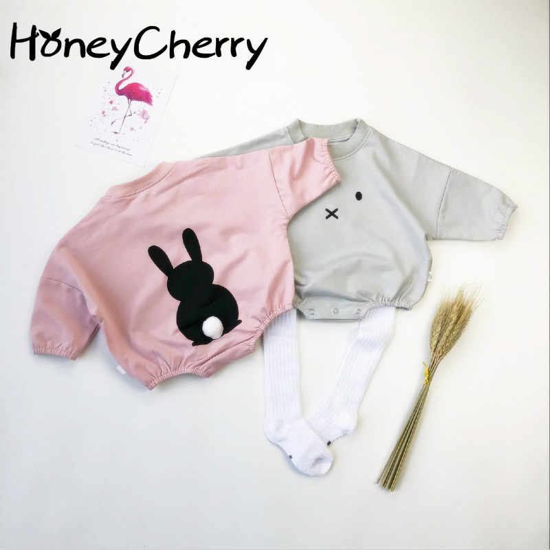ee91fce0e1dcb Detail Feedback Questions about Spring Baby Bodysuits Baby Clothes Korean  Version Of For Boys Children Pink Bodysuit Baby Girl Clothes on  Aliexpress.com ...