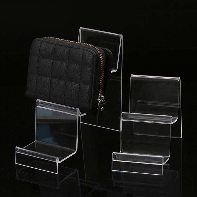 New Transparent Acrylic Display Shelf Mobile Wallet Glasses Rack Multilayer Cellphone Jewelry Display Keychain Stand Wholesale