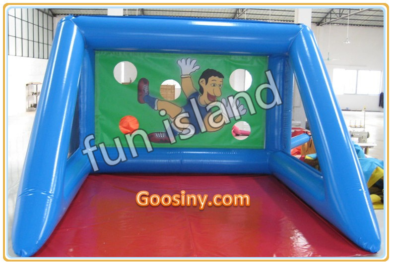 ФОТО inflatable penalty shot, free kick game,inflatable basketball hoop