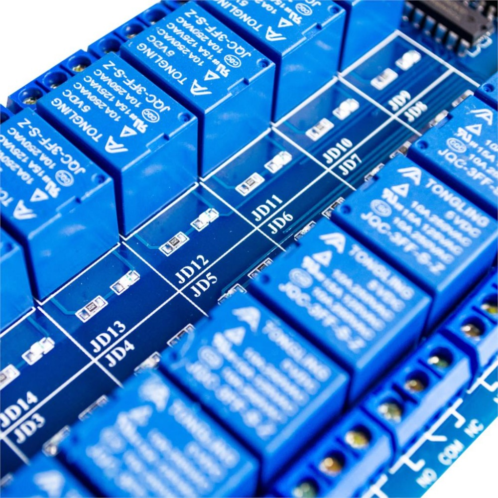 Toys & Hobbies Hearty Official Factory 5v/12v 16 Channel Relay Module For Arduino Arm Pic Avr Dsp Board With Optocoupler Isolation Diy Robot Kit Toy Commodities Are Available Without Restriction Remote Control Toys