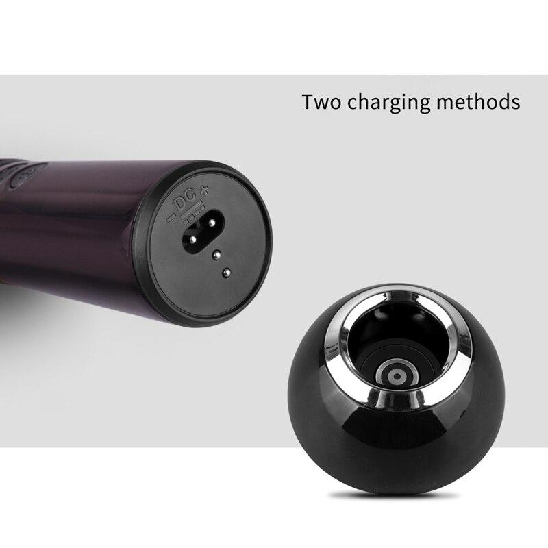 -Shinon tondeuse à cheveux sans fil et Rechargeable ensemble tondeuse à cheveux barbe Machine de découpe Kit Eu Plug - 6