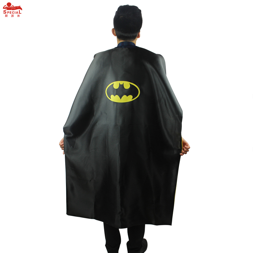 aliexpresscom buy 15 styles special l55 adult superhero cape costume for birthday party halloween superhero costumes cloak mantle decoration from - Halloween Costumes With A Cape