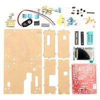 DIY Transistor Tester Kit Capacitance Inductance ESR Meter Diode Triode With Case