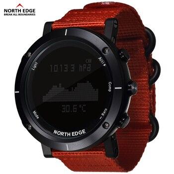 Умные часы мужские спортивные часы водонепроницаемые 50 м Рыбалка альтиметр барометр термометр компас высота часов Северная режущая кромка