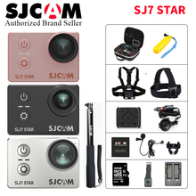 2018 100 Original SJCAM SJ7 STAR Wifi 4k 2 Touch Screen Ambarella A12S75 30M Underwater Waterproof