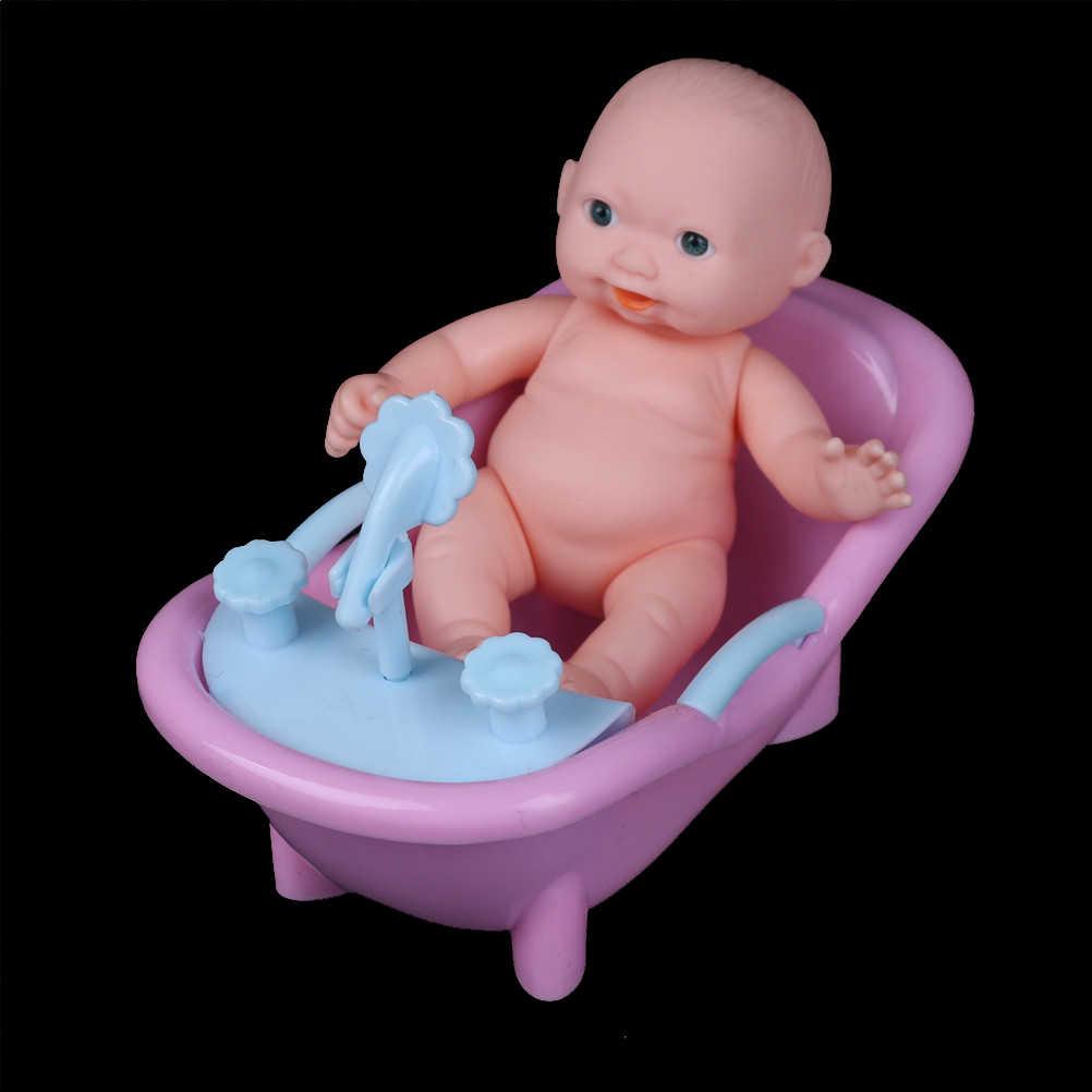 Plástico de corpo inteiro bebê reborn boneca brinquedos bathtoy bebê-reborn menino bebês aniversário presente natal meninas brinquedos