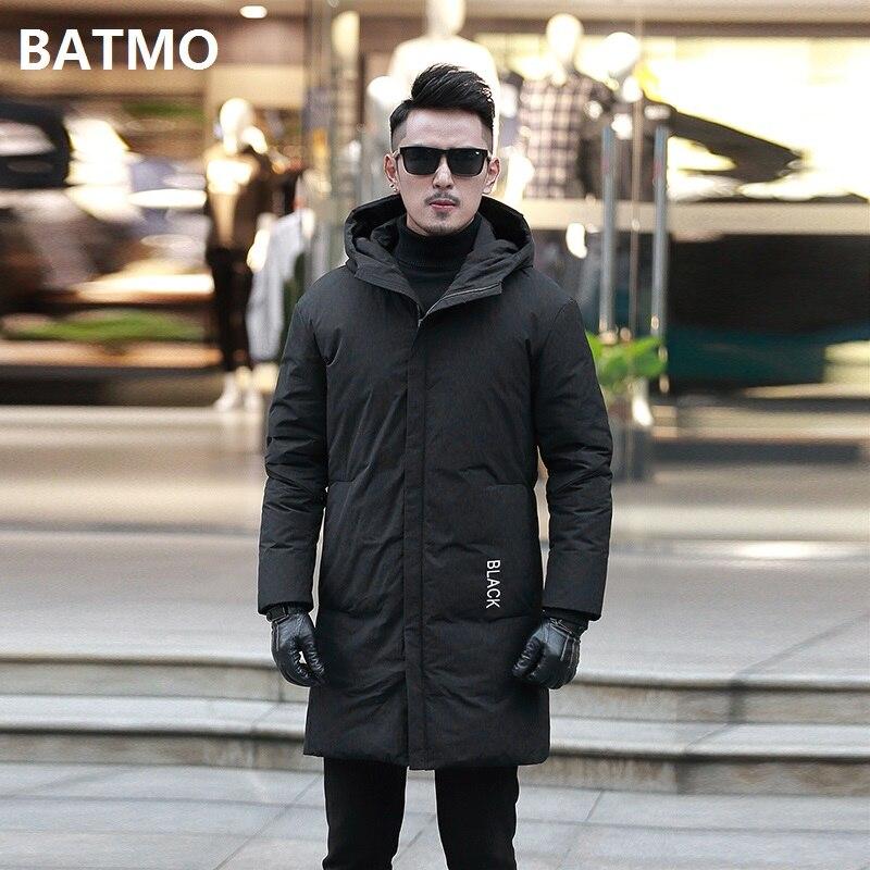 Ausdauernd Batmo 2018 Neue Ankunft Winter Hohe Qualität 90% Weiße Ente Unten Mit Kapuze Schwarz Jacken Männer, Männer Warme Parkas, Plus-größe M-4xl 1033