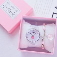 2019 Simple Chic Love Heart Watches Women Transparent