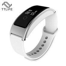TTLIFE Brand Bluetooth Smart Bracelets Heart Rate Sleep Monitor Smart Wristband Waterproof Pedometer Call Reminder Smart Band