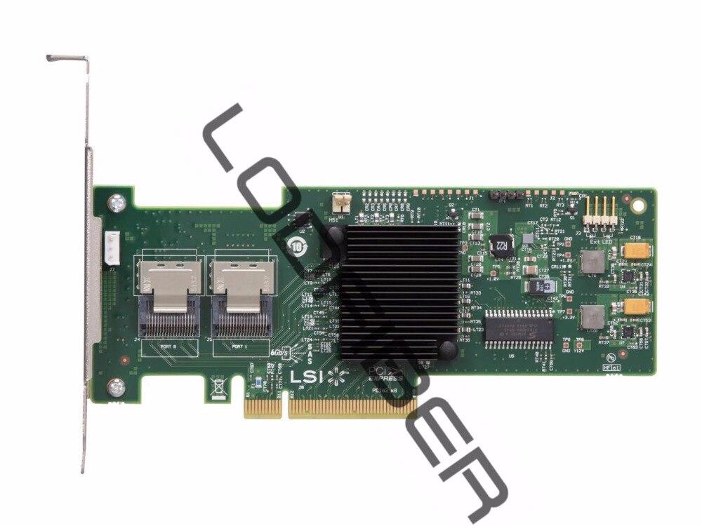 PCI-Express 3.0 x8 Stnd Brkt SATA // SAS Host Controller LSI LSI00300 9207-8e