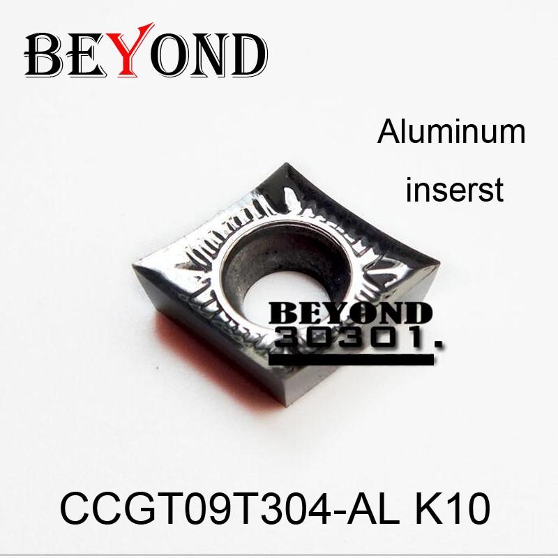 BEYOND CCGT09T304-AL K10 CCGT 09T304 alumiiniumist ülikond SCLCR-i - Tööpingid ja tarvikud - Foto 1