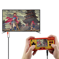 AV out Video Game Portable Handheld Console Built in 638 Games Retro Mini Game Best Gift For Child Support TV AV out