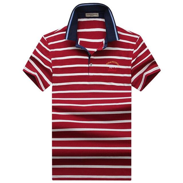 Offre spéciale 2019 nouveauté hommes Polo mode bonne qualité classique rayé Homme Camisa hommes Polo t-shirt grande taille S-10XL