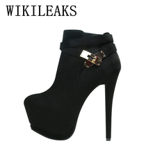 italian euros designer shoes women luxury 2017 high quality flock high heels shoes woman pumps short ankle boots platform shoes