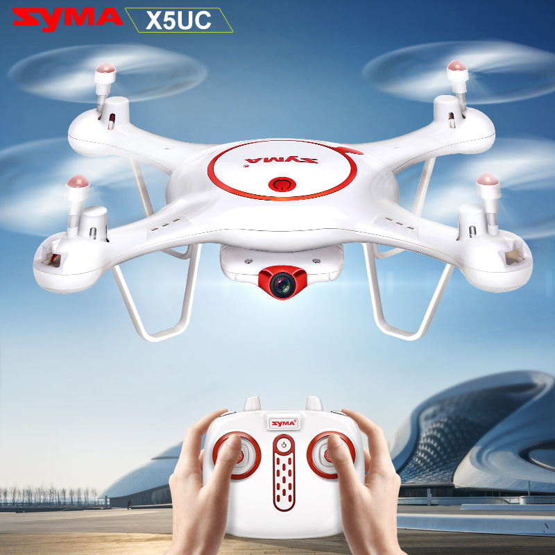 X5UC Syma RC Quadcopter 2.4G RC Drone with HD Camera 4CH Professional Remote Control Helicopter 360 Degree Rolling Quadrotor for syma x8sw x8sc remote control helicopter 3pcs battery and the us regulatory charger with 1 care 3 conversion line