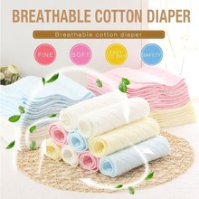 Baby Care Diapers Reusable Muslin Pure Cotton Nappy Baby Summer Breathable Washable Baby Urine Cloth Neonatal Supplies Diaper reusable baby gauze diapers cloth breathable printed diaper inserts 1piece 10 layer 100% cotton washable baby care products hot