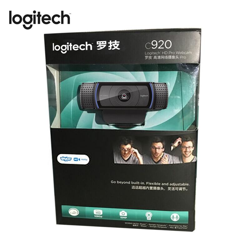Logitech C920 Pro Full Hd 1080p 30fps 720p Fps Webcam Auto Focus