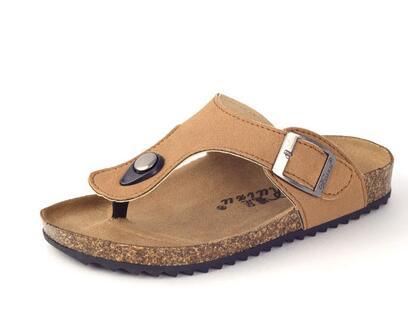 8b37c893466863 2017 summer new influx of boys and girls shoes sandals Korean version  paternity cork shoe burst models boys Slippers girls