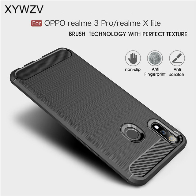 For Oppo Reno 10X Zoom Case Armor Protective Soft Silicone Phone Case For Oppo Reno 10X Zoom Back Cover For Reno 10X Zoom Fundas