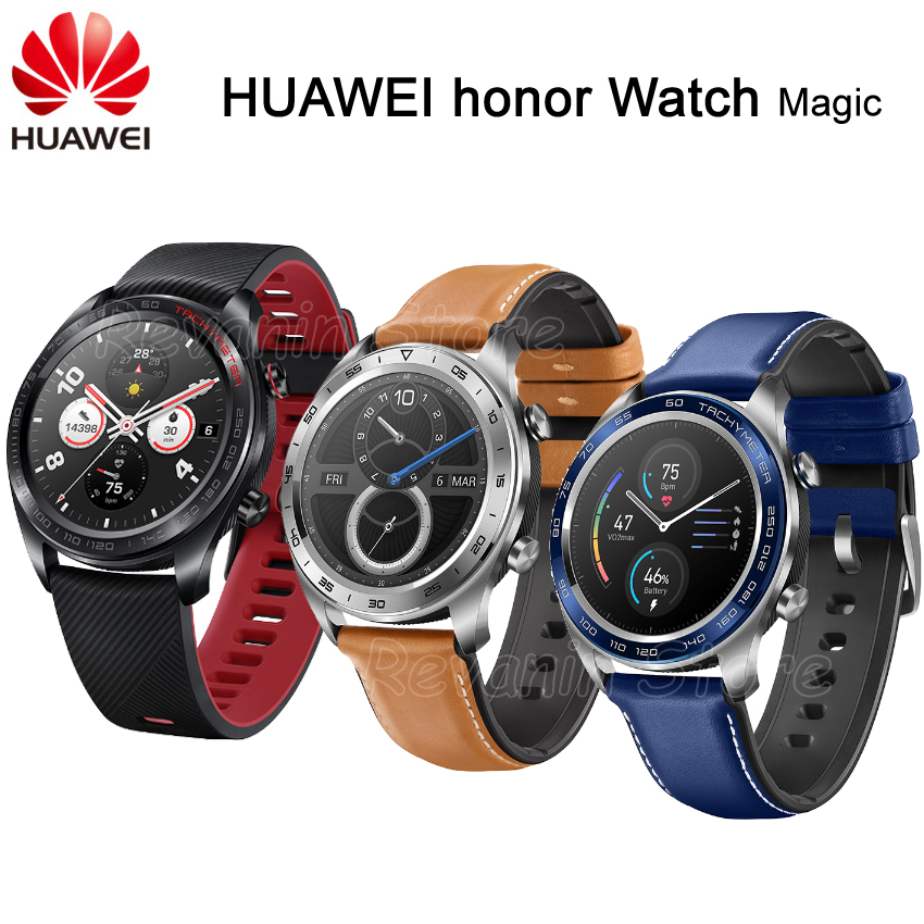 Stock Huawei Honor Watch Magic Smart Watch Sport Sleep Run Cycling Swimming mountain GPS 1 2