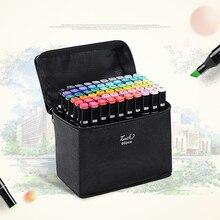 30/40/60 Colors Graphic Marker Pen Set Professional