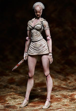 Silent Hill 2 Series SP 061Pyramid Head Bubble Head Nurse PVC Action Figure Collection Model Kids Toy Doll brinquedos