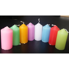 Colorful Smokeless Candles Ornament Aromatic Decorative Christmas Wax Candle Decoration Vela Perfumada 20KO333