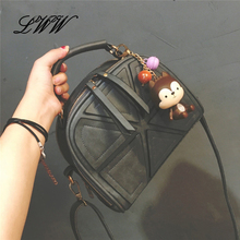 Fashion Designer Shell Women Shoulder Bags Handbags Women Famous Brands Vintage Small Ladies Crossbody Bag Geometric Printing