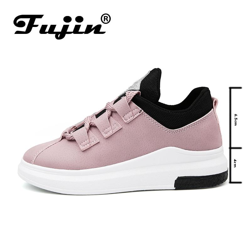 Baskets Respirant Black pink 2019 Plate Fujin Pour Femmes Lady Étudiant Décontractées Chaussures Sneakers green Confortable Mode forme grey Printemps 7wZgEAx1q