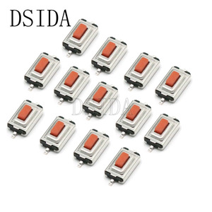 50Pcs/lot 3*6*2.5mm 3*6*2.5H 3x6x2.5mm SMD Red Push Button Switch Microswitch Tact Switch For PCB