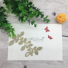 TR-038 NEW Leaves Metal Die CUT Cutting Decorative DIY Embossing Scrapbooking Collect Craft Create Stamps card Stencil butterfly