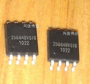 1pcs/lot 25Q64BVSIG 25Q64BVSSIG W25Q64BVSIG 25Q64 BVSIG W25Q64 SOP-8